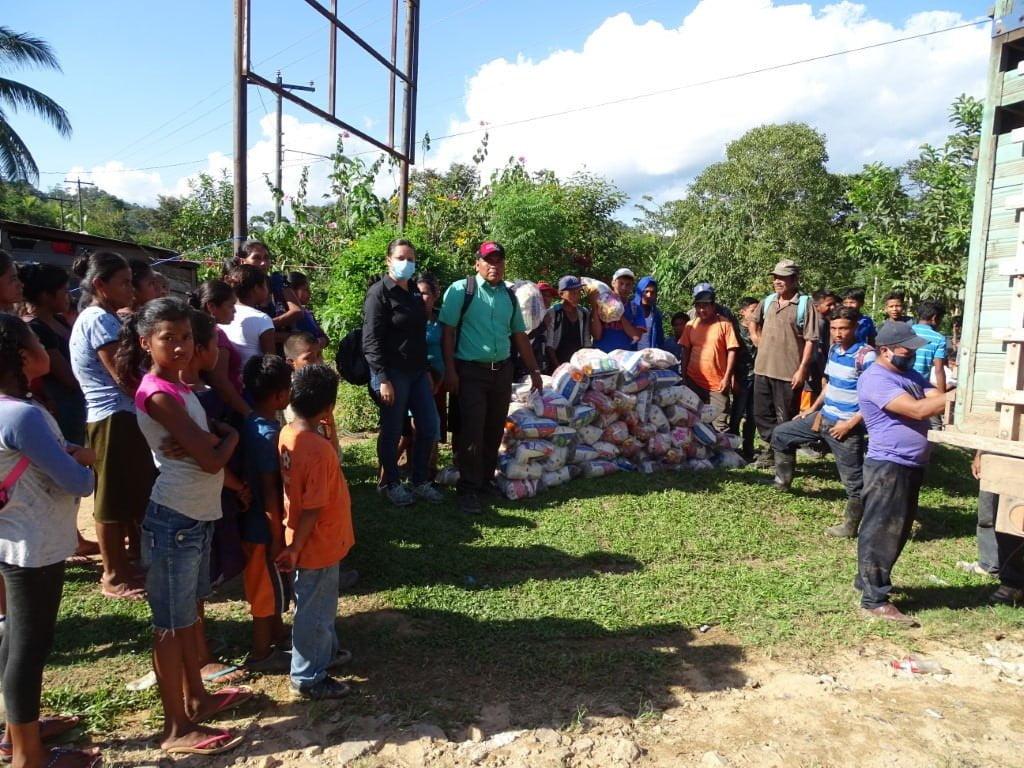 MLR Forestal brinda ayuda humanitaria a afectados por el huracán Eta