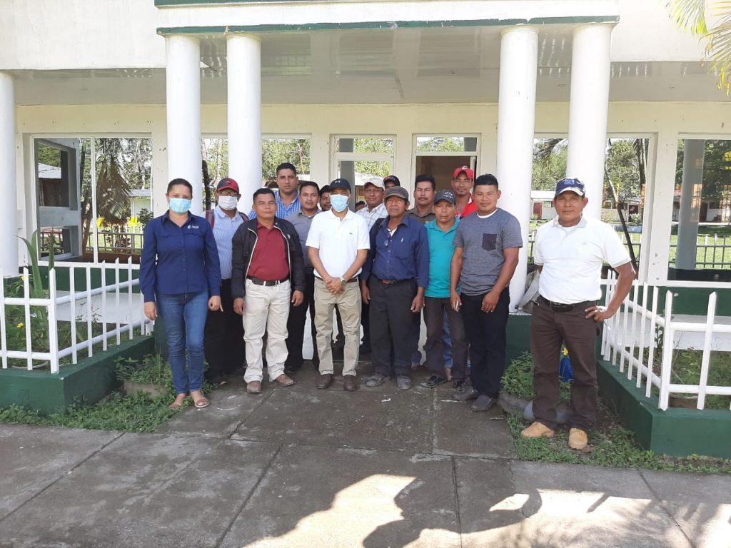 Avanza convenio de relacionamiento de MRL Forestal y el GTI Matumbak
