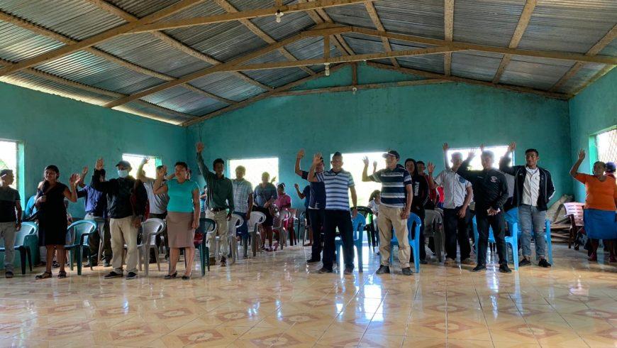 Autoridades Mayangnas y MLR Forestal  firman convenio por la comunidad y medioambiente