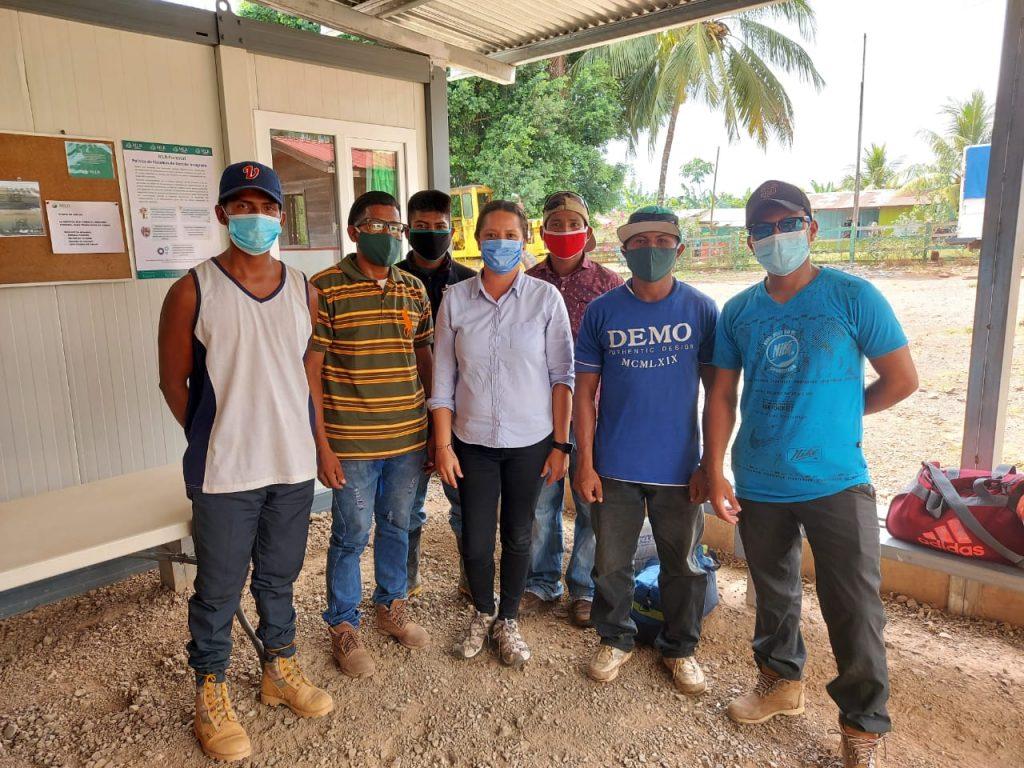 Los jóvenes contratados por MLR Forestal son originarios de las comunidades de Pansuhwas, Mukuswas e Ispayulilna.